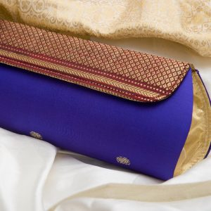 Voilet Colour Paithani Box Pattern Purse
