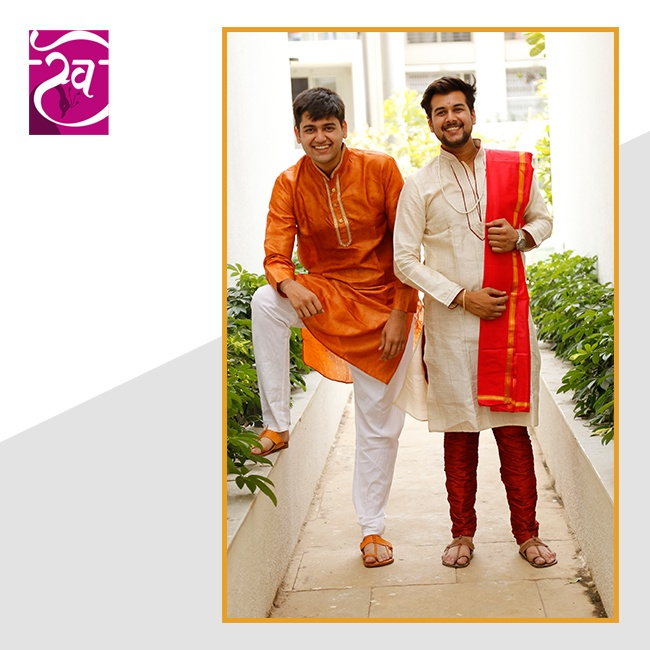 Paithani Kurta for mens