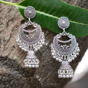 Fancy-Party-Wear-Jewellery-Afghani-Kashmiri-Jhumka