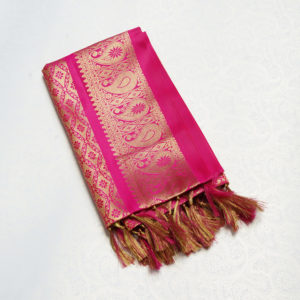 Pink & Golden Colour shela