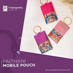 paithani-mobile-pouch