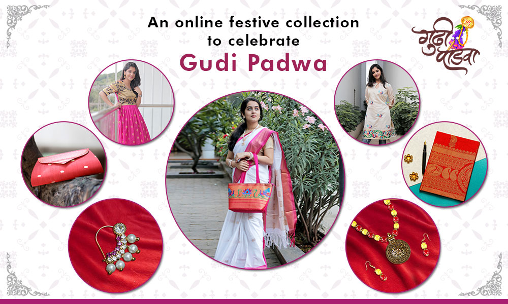 An online festive collection to celebrate Gudi Padwa