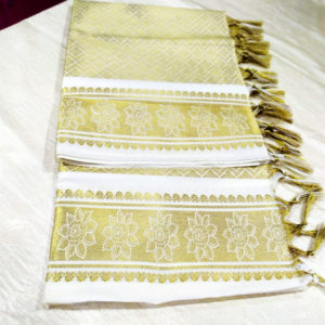 Golden & white Colour Dupatta