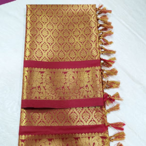 Golden & Maroon Colour Dupatta